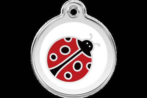 "Médaille ""ladybug"" Red Dingo"