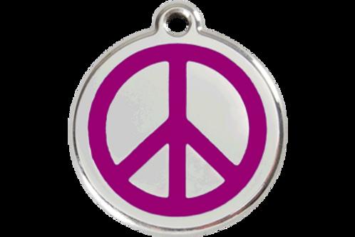 """Médaille """"peace"""" Red Dingo / 11 couleurs possibles"""