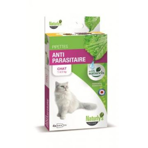 NATURLY'S  Pipettes pour Chat