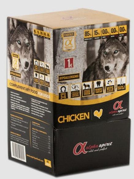 Alpha Spirit Dog Snack Chicken / Prix à partir de