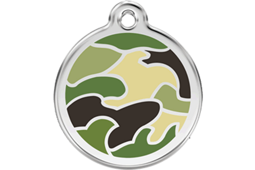 "Médaille ""camouflage green"" Red Dingo"