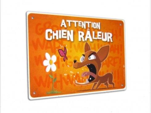 Panneau Attention Chien Râleur