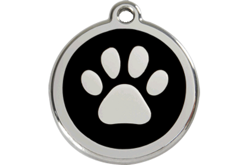"Médaille ""paw"" Red Dingo / 11 couleurs possibles"