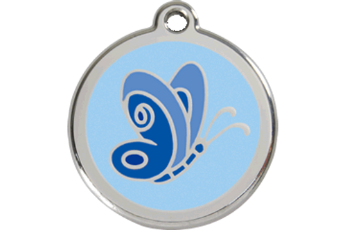 "Médaille ""butterfly"" Red Dingo / 3 couleurs possibles"