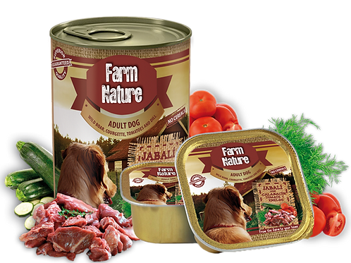 boîte Farm Nature Sanglier Courgettes