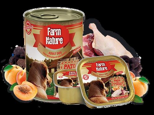 Farm Nature canard, abricot, truffe