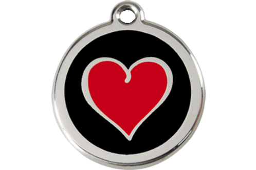 "Médaille ""Heart"" Red Dingo / 3 couleurs possibles"