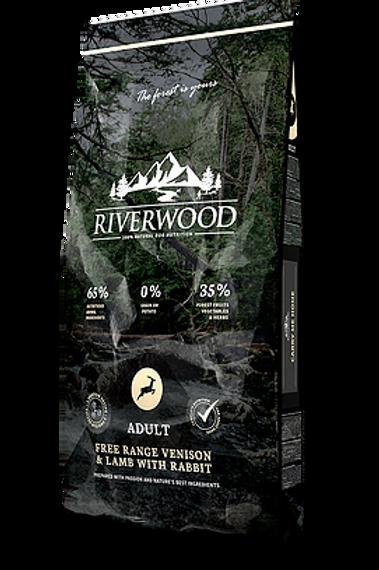 Croquettes Riverwood chien adulte au chevreuil
