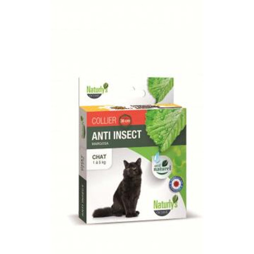 NATURLY'S Collier Anti tiques/puces  chat