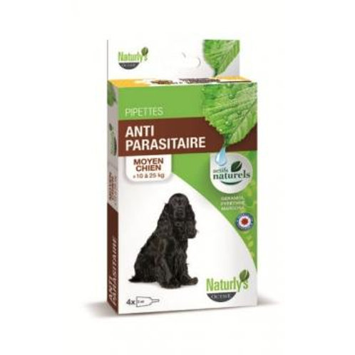 NATURLY'S Pipettes Chien Moyen