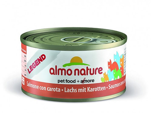 Almo Nature Chat Legend Saumon avec Carotte