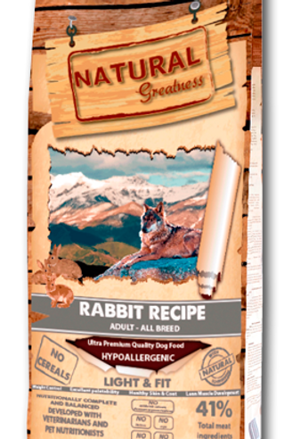 "Natural Greatness ""light"" Lapin/ Prix dès 16.90"
