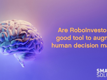 Are RoboInvestors a good tool to augment human decision making?