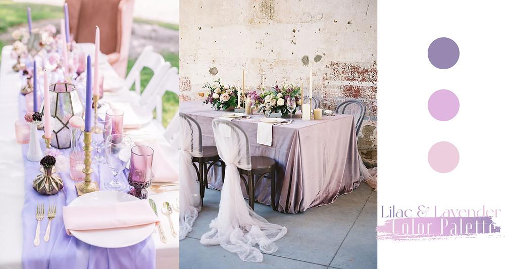 Lilac Lavender Wedding