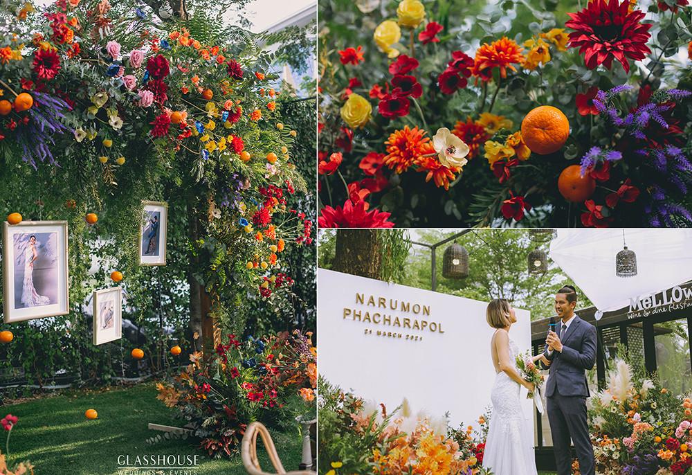 wedding at mellow garden