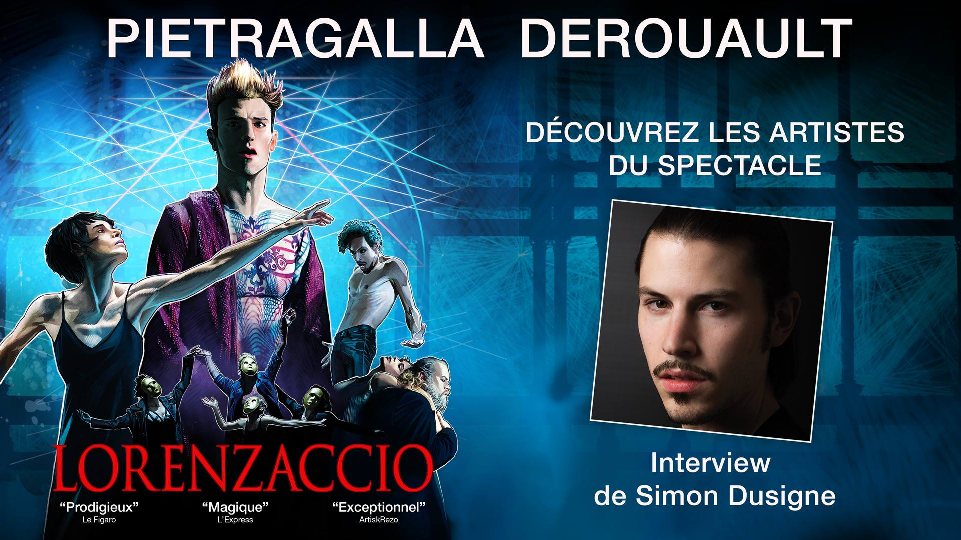 Interview Simon Dusigne Lorenzaccio