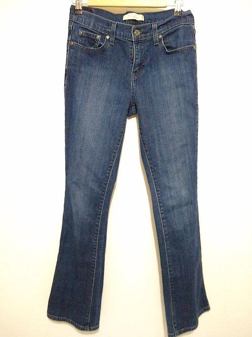 Womens 4 Bootcut Blue Jeans