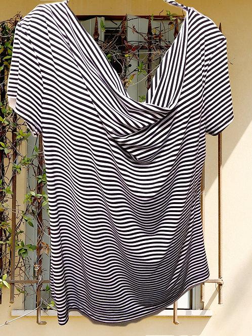 Womens XL Striped Shirt