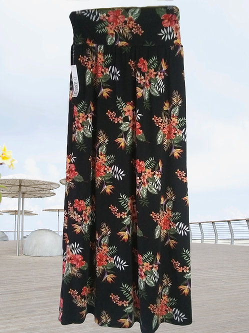 Womens M Tropic Maxi Skirt