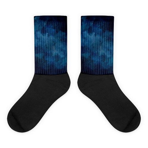 Night Sky Tie Dye Socks