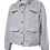 Thumbnail: Womens L Button Down Cargo Coat