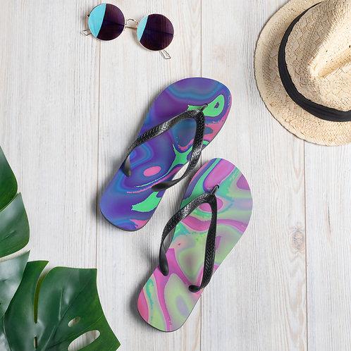 Abalone Flip Flops