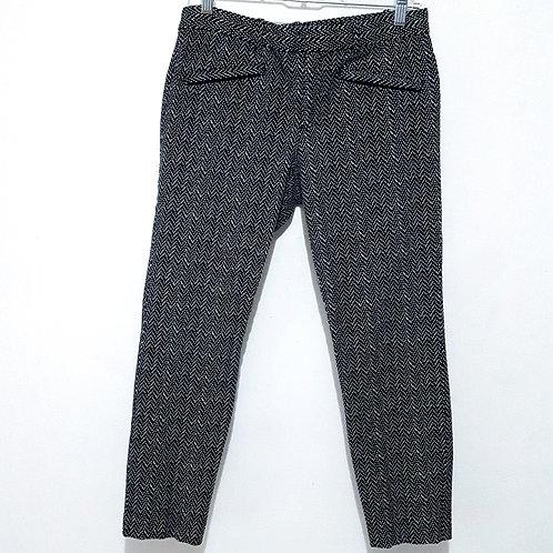 Womens 10R Zigzag Capri Pants