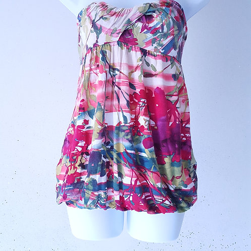 Smell the flowers halter top