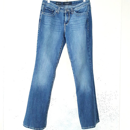 Womens 28/8 Flare Blue Jeans