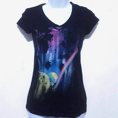 Womens M Planets T shirt