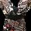 Thumbnail: Womens S Floral Dolman Top