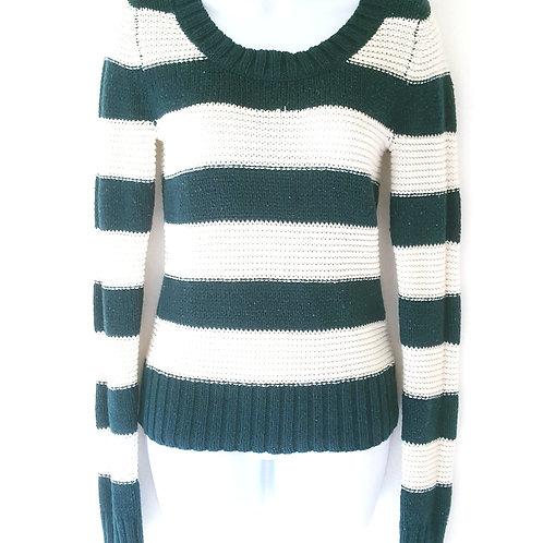 Womens L Malachite Knit Sweater
