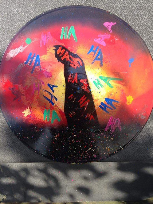 In the Laugher Painted Vinyl Record