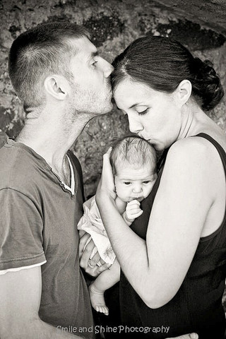 Portrait bébé : Maëlann