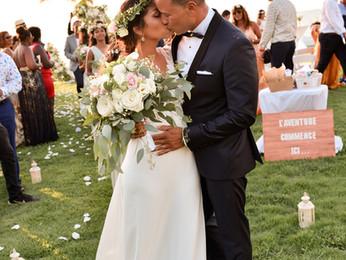 Mariage : Malika & Jean-Christophe