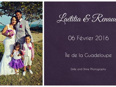 Mariage : Laëtitia & Renaud