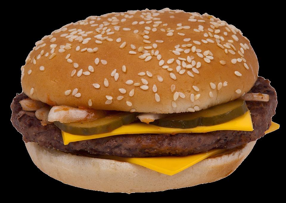 Hamburger, 'Mogen het iets meer augurken zijn?'