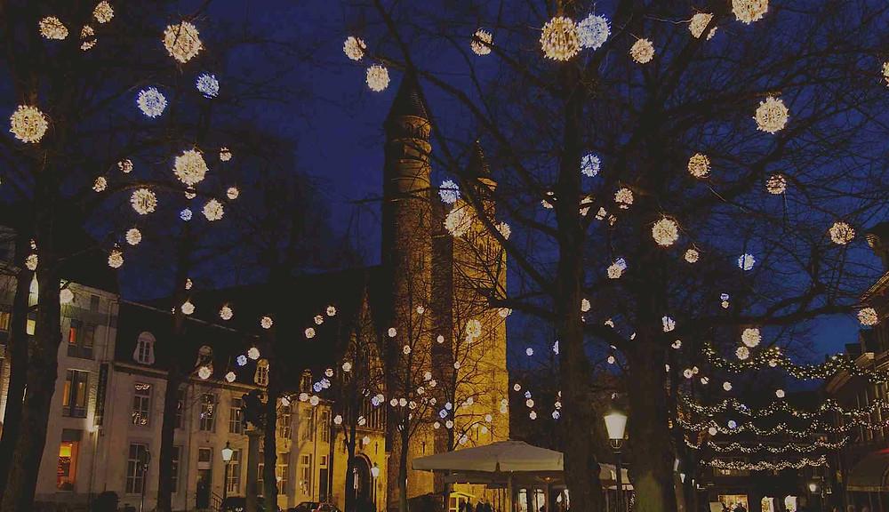 Maastricht tijdens de feestdagen