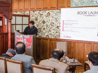 My introductory speech at ZeroBridge Fine Dine, Srinagar - Kashmir