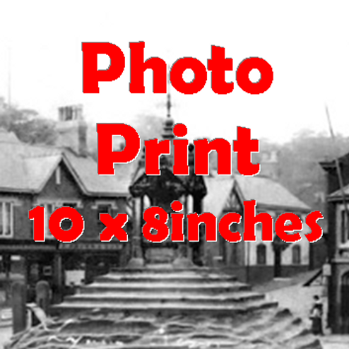 Photo Print from Lymm Archive (10 x 8inches)