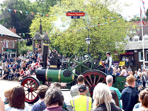Lymm Jigsaw - Historic Transport Day