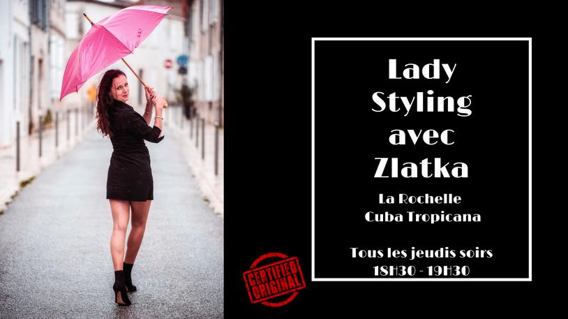 Cours de Lady Styling Salsa avec Zlatka - Cuba Tropicana à La Rochelle