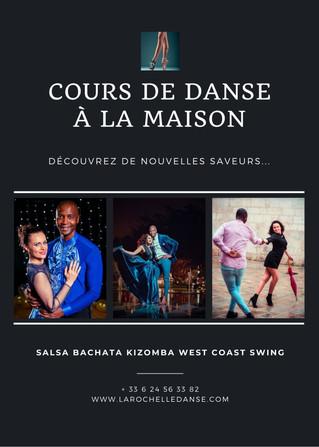 Cours de danses à domicile avec Achile Dinga & Zlatka : De nouvelles saveurs, un coaching différent