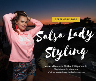 Cours de Salsa Lady Styling à La Rochelle avec Zlatka