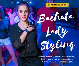 Cours de Bachata Lady Styling à La Rochelle avec Faustine