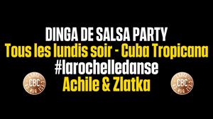 Dinga de salsa party @ Cuba Tropicana - La Rochelle