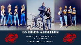 DS PROD AUDITION - FORMATION DE DANSEURS MAMBO - LA ROCHELLE - ACHILE DINGA & ZLATKA