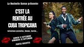 La Rochelle Danse fait sa rentrée des classes au Cuba Tropicana avec Achile Dinga & Zlatka