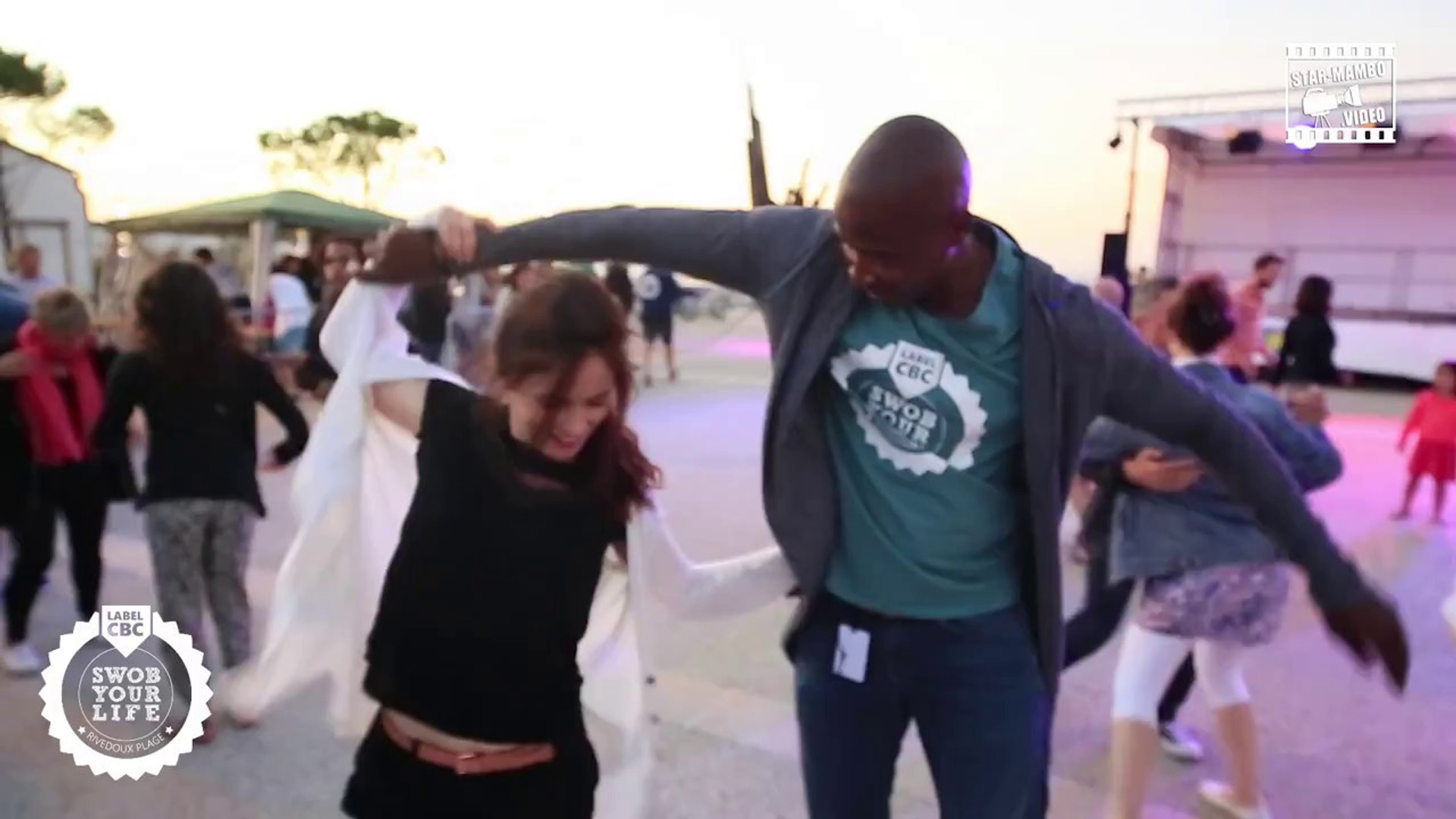Social dancing au Swob avec Virginie Massart