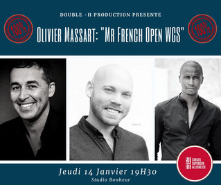 "TALK SHOW Double H-Production : Olivier Massart ""Mr French Open West Coast Swing"""
